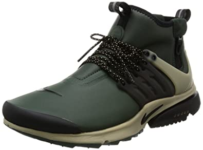 Nike Air Presto Mid Utility Men s Shoes Grove Green Black Khaki 859524-300 7dc563a1f