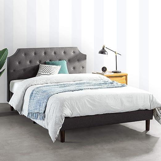 Amazon.com: MELLOW MAVN Upholstered Platform Bed Modern Tufted