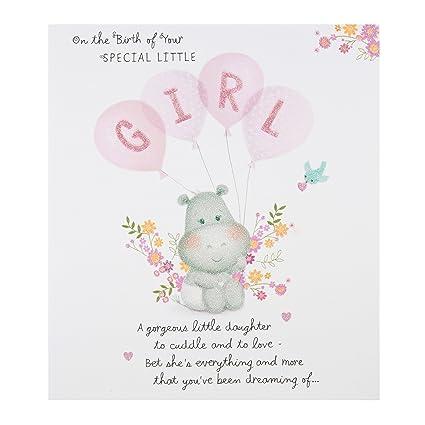 Hallmark - Tarjeta de felicitación por nuevo bebé Tarjeta ...