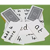 Playing cards, blank one side, pack of 200 - 00813