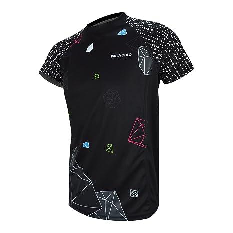 Camiseta running hombre reflectiva Revenlo® grado profesional Fibra Revendrying® alta calidad transpirable secado rápido
