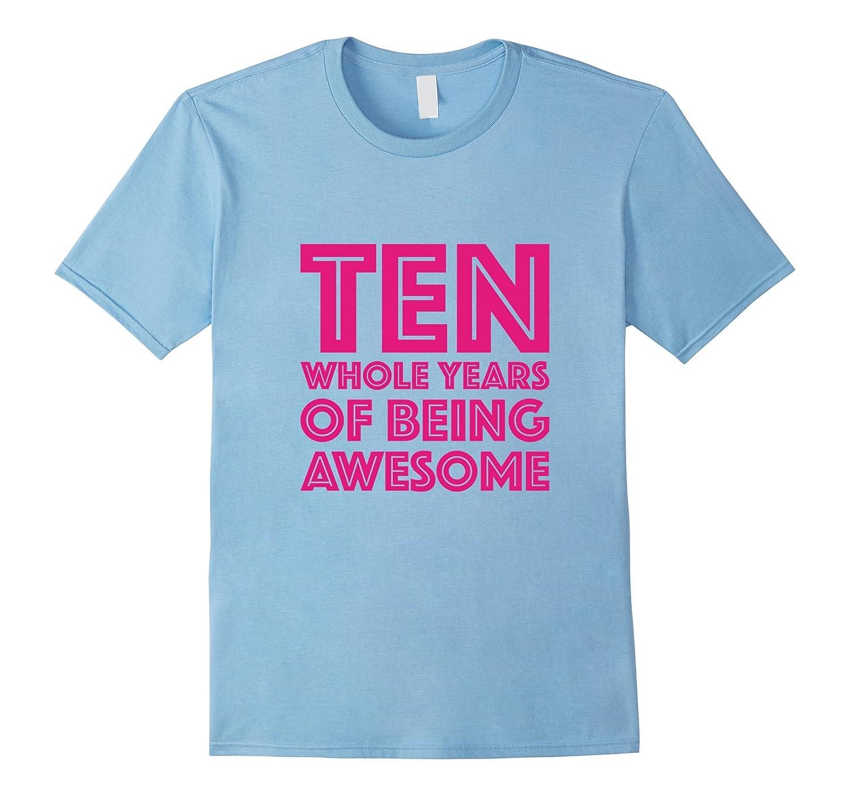 10th Birthday Shirt Gift Girl-Tovacu