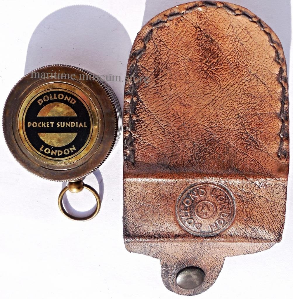 MAH Pocket Brass Sundial Compass, Both Side Work on The Bird. C-3005 by MAH (Image #4)