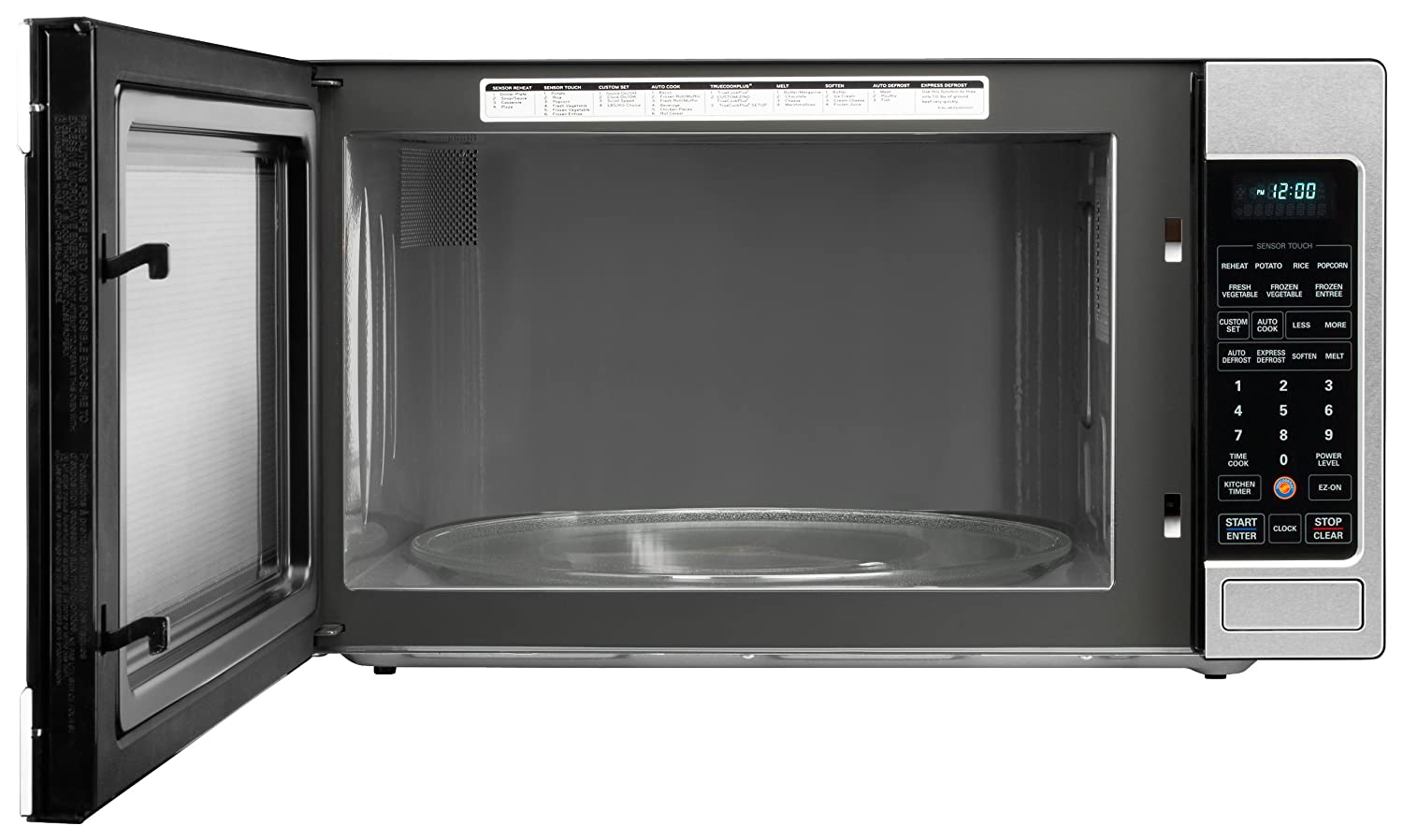 display product ft countertop lowes for steel com stainless at shop reviews watt microwave appliances pl cu microwaves ovens