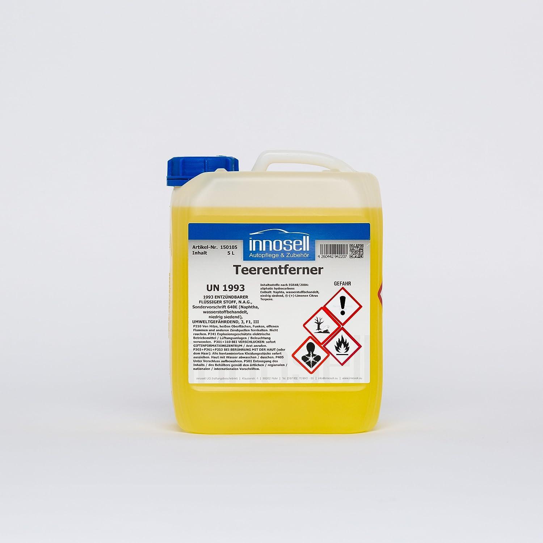 Innosell Teerentferner Bitumenentferner Harzentferner Ölentferner Unterbodenschutz 5 L Auto