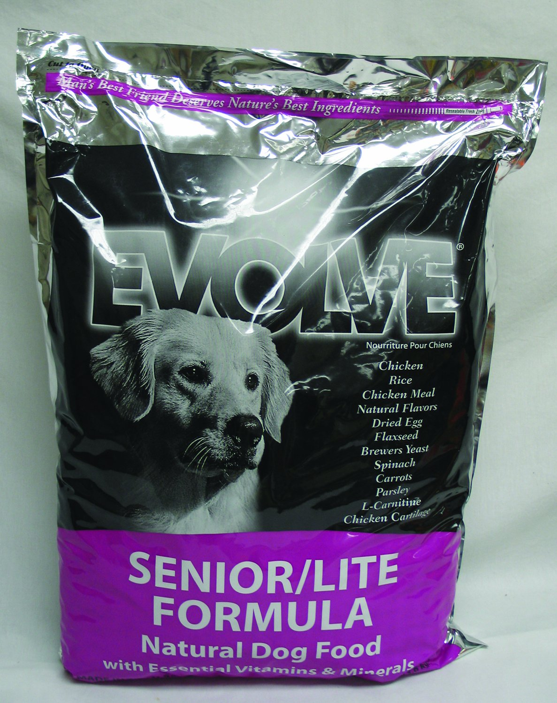 Evolve Dry Dog Food Chicken & Rice Formula Senior/Lite Dry Dog Food, 30 lb