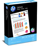 HP Paper, Office Ultra White, 20lb, 8.5 x 11, Letter,  92 Bright, 500 Sheets / 1 Ream (172160R), Made In The USA