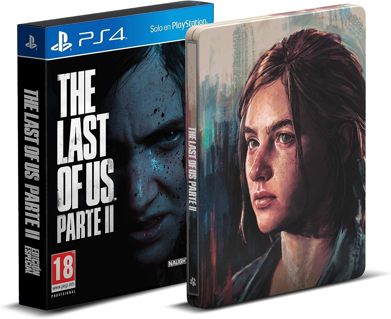 #Videojuego The Last of Us Parte II + Steelbook (Exclusivo Amazon) por 69,90€
