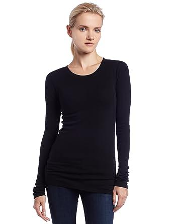 bf0e3e3e574 LAmade Women's Long Sleeve Thermal Tee at Amazon Women's Clothing ...