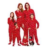 Family Holiday Merry Litmas Matching Pajamas   Plush Onesies