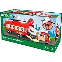 BRIO World-Helicóptero de Transporte de Carga, Multicolor (33886)