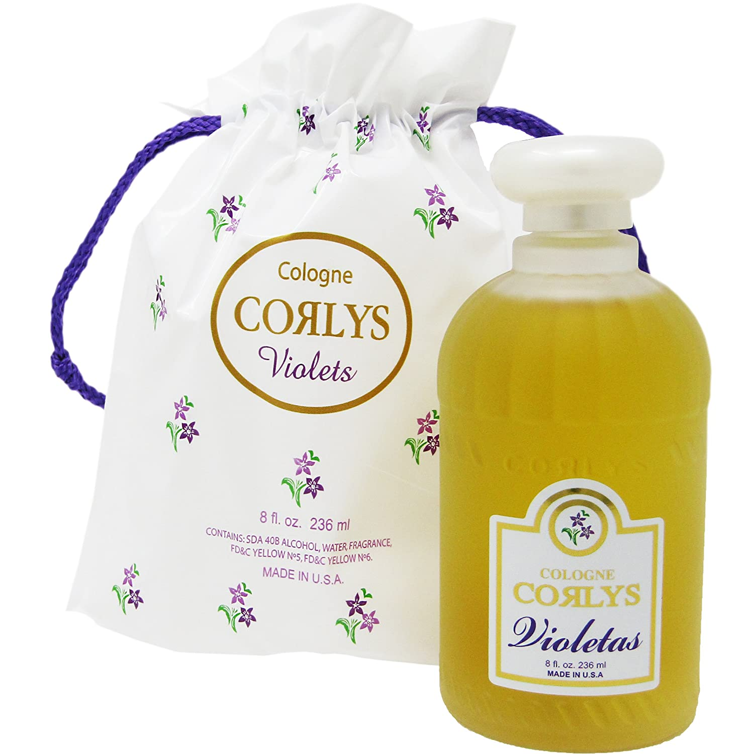 Amazon.com : Corlys Violets Cologne 8oz. A Cuban Delight : Baby Care Products : Beauty