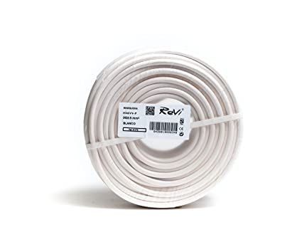Cable H05VV-F Manguera 3x2,5mm 25m (Blanco)
