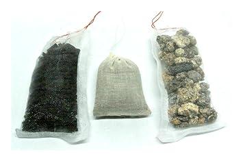 Paquete de filtros para acuarios marinos de agua salada, eliminador de fosfato químico biológico, carbón activado: Amazon.es: Productos para mascotas