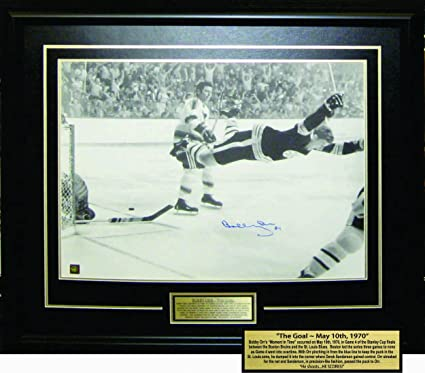 cc7ac561f Image Unavailable. Image not available for. Color  Framed Bobby Orr  Autographed Boston Bruins ...