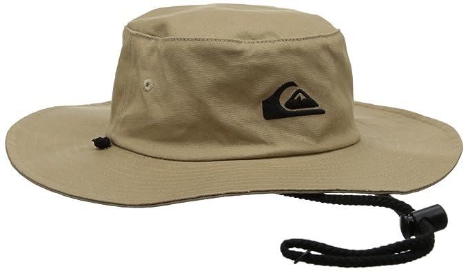 c20a6f68164742 ... new zealand quiksilver mens bushmaster floppy sun beach hat khaki one  size aedaa d8214