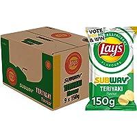 Lay's Iconic Restaurant Flavours Chips Subway Teriyaki, Doos 9 stuks x 150 g