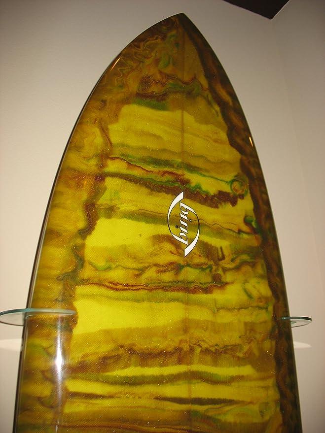 Amazon.com: Surfboard Wall Racks - Vertical Wall Display, Clear ...