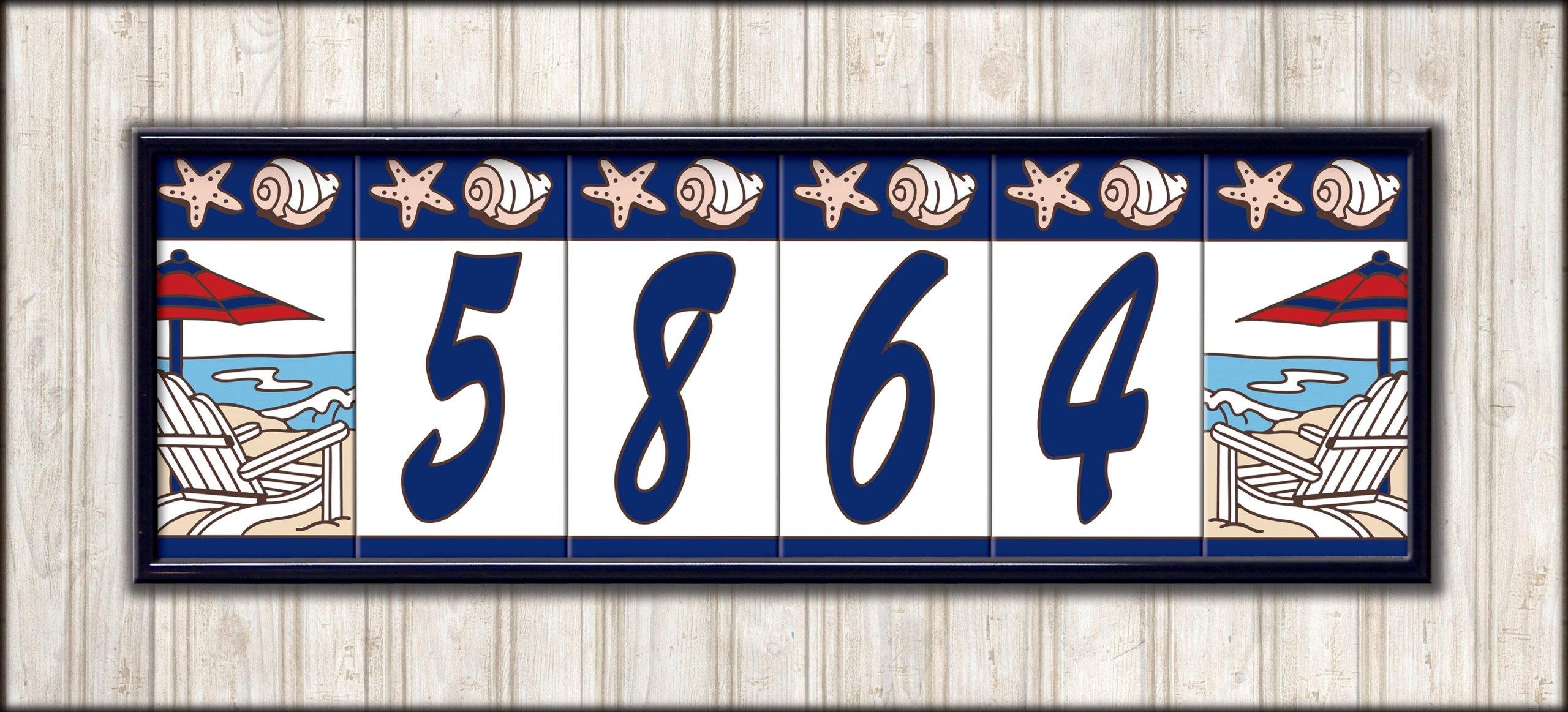 6'' x 15'' Frame Kit for Earthtones Ceramic Designer & Address Tiles by Earthtones