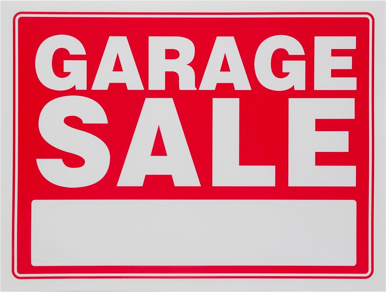 Amazon.com: cochera venta cartel rojo Patios de ventas ...