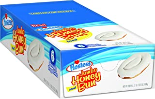 product image for Hostess Jumbo Iced Honey Buns (Pack of 6)