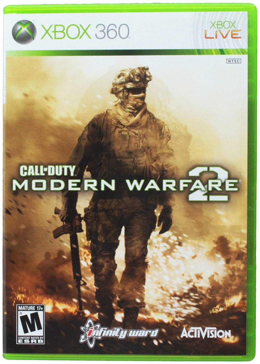Amazon com: Activision COD: Modern Warfare 2 X360: Video Games