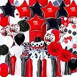 Amazon.com: 11 pieza 80th Feliz cumpleaños decoración de ...