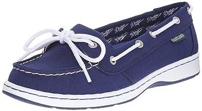 7412359a2c86 Eastland Women s Sunset MLB Dodgers Boat Shoe