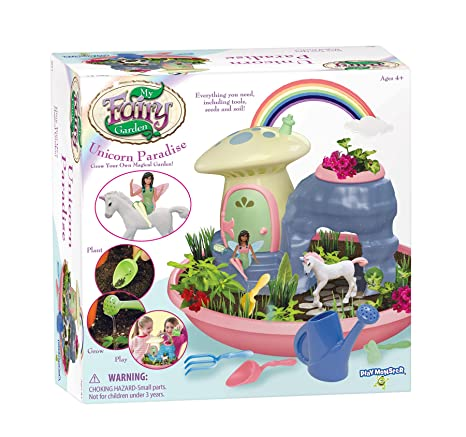 My Fairy Garden Unicorn Paradise Grow Your Own Magical Garden Toys, Rainbow
