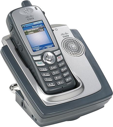 Cisco CP-7921G-E-K9 - Teléfono inalámbrico IP con Pantalla LCD: Cisco: Amazon.es: Informática