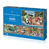 """Gibsons G5040 """"Mitchell's Mobile Shop"""" Jigsaw Puzzle (4 x 500-Piece)"""