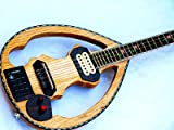 Silent :: Greek Silent Bouzouki with Equalizer Plus Magnetic Free Gigbag New