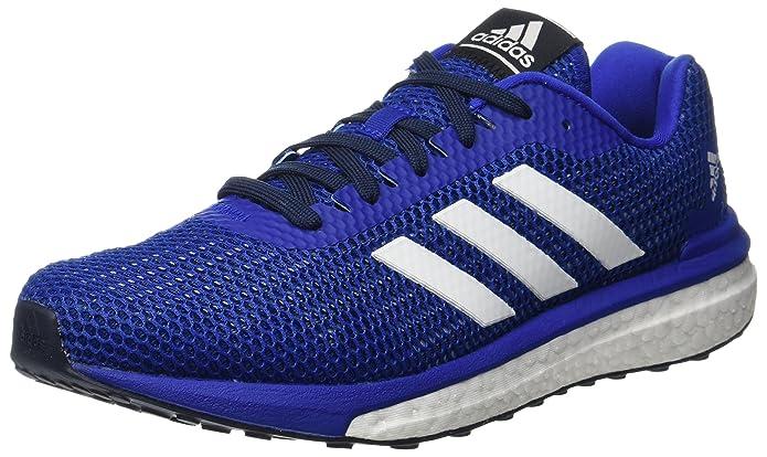 Adidas uomini 'vendicativo concorrenza scarpe da corsa, blu (collegiale