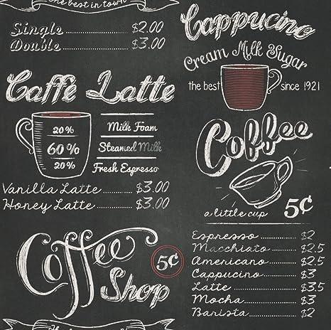Rasch Portfolio Wallpaper 234602 Vintage American Coffee Shop Chalk Board USA