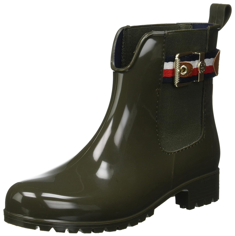 Tommy Hilfiger Corporate Belt Rain avvio, Stivali di Gomma Donna   Buon design    Uomini/Donna Scarpa