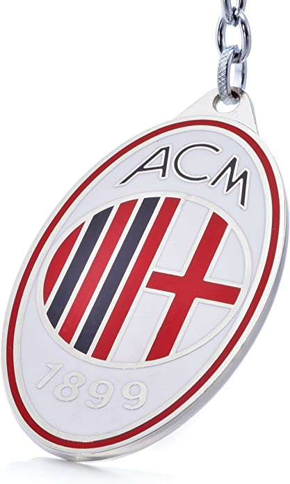 Official Soccer Team Football Club Logo Metal Pendant Keychain