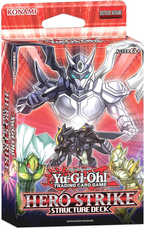 Konami - Juego de Cartas Hero Strike Yu-Gi-Oh! (44155): Amazon.es ...