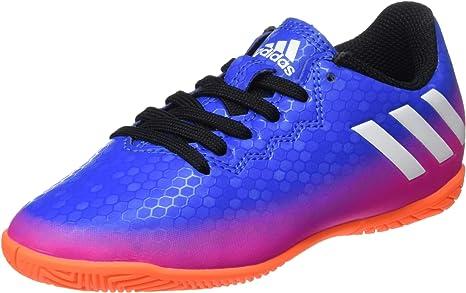 limpiador salario compañera de clases  adidas Messi 16.4 In J - Zapatillas de fútbol Americano. Unisex niños:  Amazon.es: Deportes y aire libre
