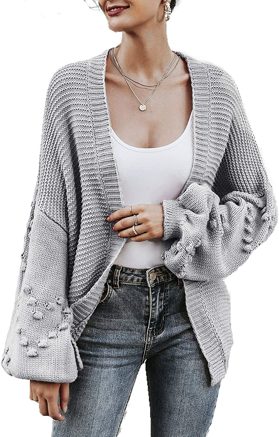 Striped Cardigans For Ladies Long Casual Loose Thin Knitted Warmer Women Sweater