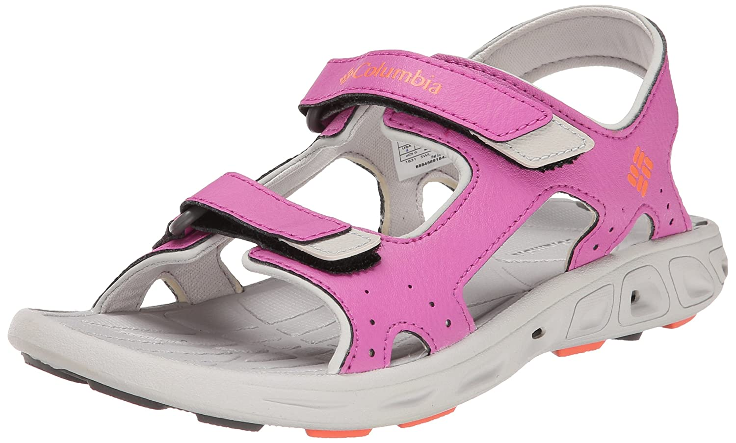 Columbia Youth Techsun Vent 3 Strap Water Sandal (Little Kid/Big Kid) Youth Techsun Vent - K