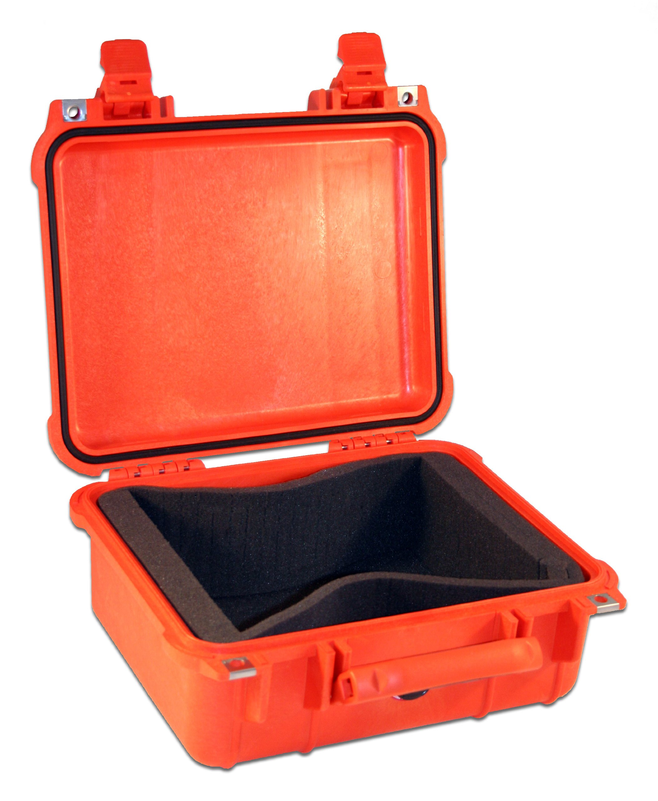 First Voice V18001 AED Rugged Lifetime guaranty Pelican Waterproof Carrying Small Case with Foam
