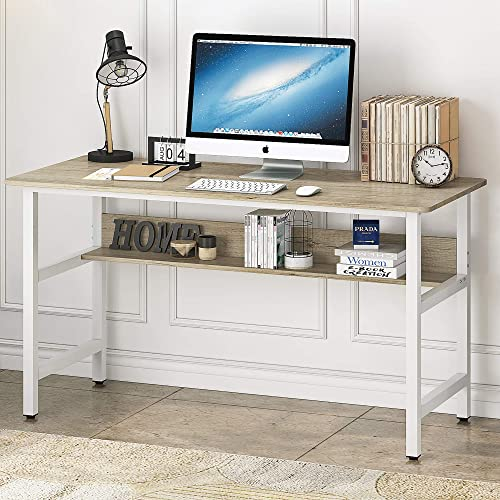HOME BI Writing 55 Inch Computer Desk