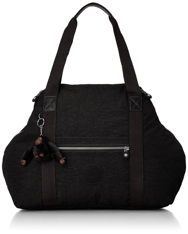 c0e0dc60a4 Kipling Art M, Medium Travel Tote, 58 cm, 26 liters, Black: Amazon.co.uk:  Luggage