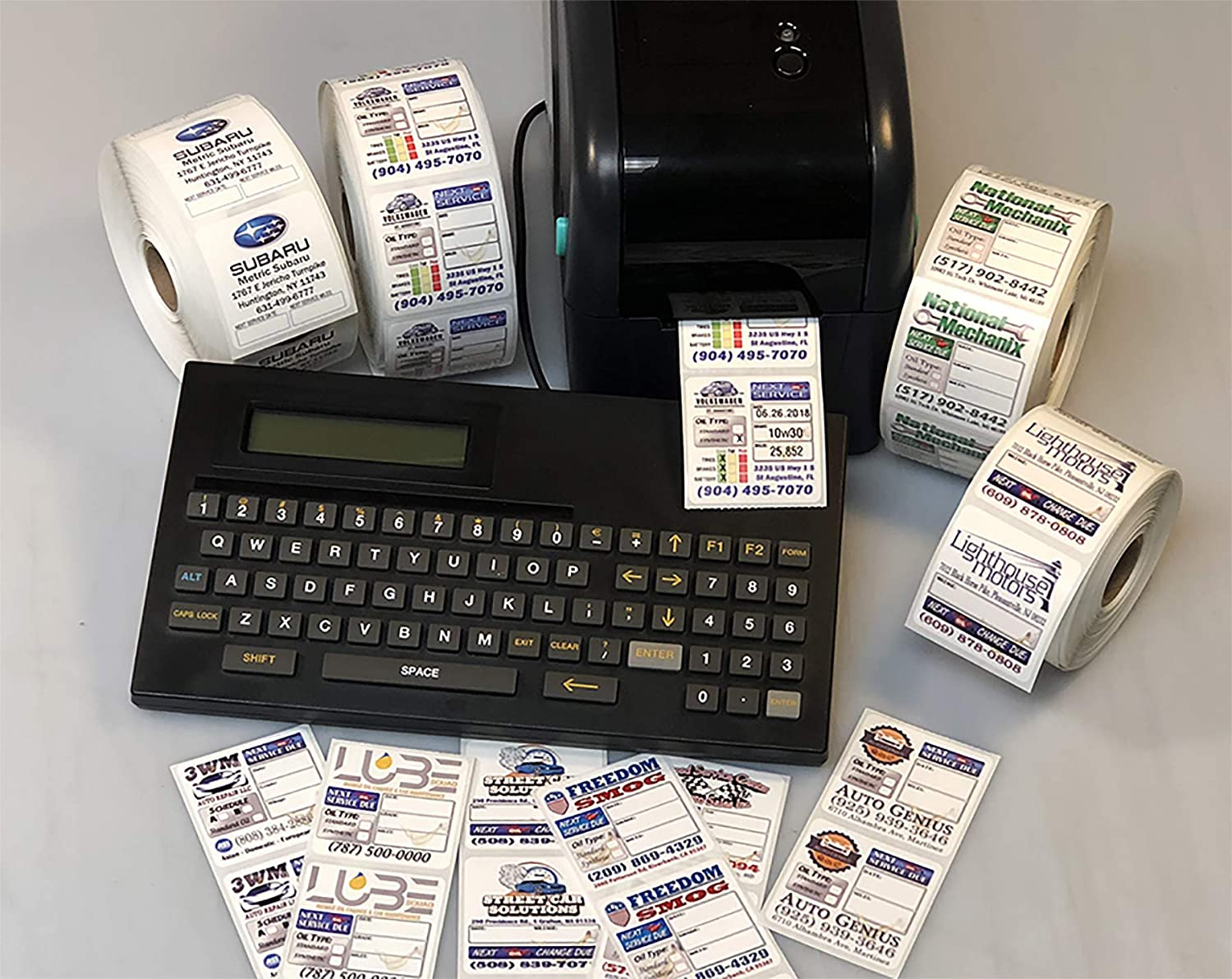 Amazon Com Stand Alone Next Oil Change Printer System With