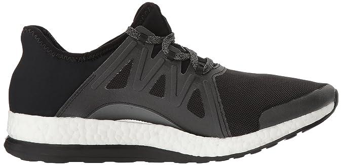 adidas Performance Women s Pureboost Xpose Running Shoe Black/White/Dark  Shale 6 B(M) US: Amazon.in: Shoes & Handbags