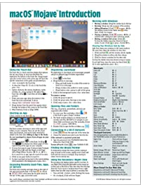 macOS Mojave Introduction Quick Reference Guide (Cheat Sheet of Instructions, Tips & Shortcuts - Laminated Guide)