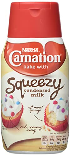 Carnation Sweetened Condensed Milk Squeezy 170g Amazon Co Uk Grocery