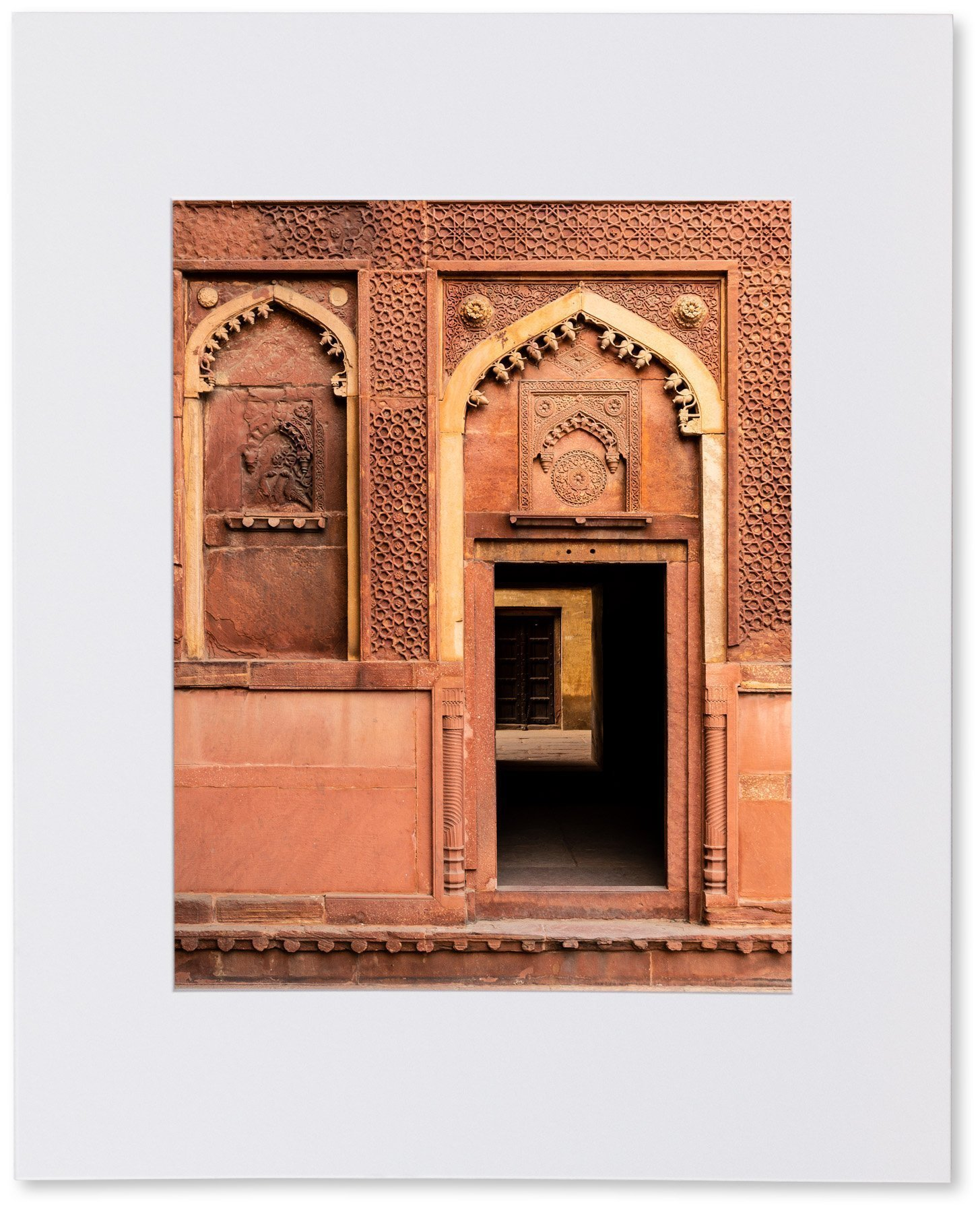 Matted Photo Print – Agra Fort, India – 16x20-11x14-8x10