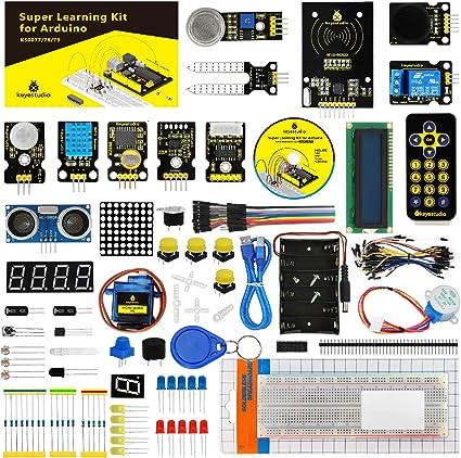 KEYESTUFIO Super Starter Kit con LED RFID Servo Motor de relé ...