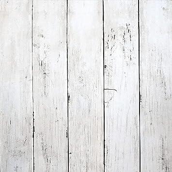 White Wood Wallpaper Wood Peel And Stick Wallpaper White Wallpaper Removable Vintage Wood Plank Wallpaper Self Adhesive Decorative Wall Covering Vinyl Film Shelf Drawer Liner Roll 78 7 X17 7 Amazon Com
